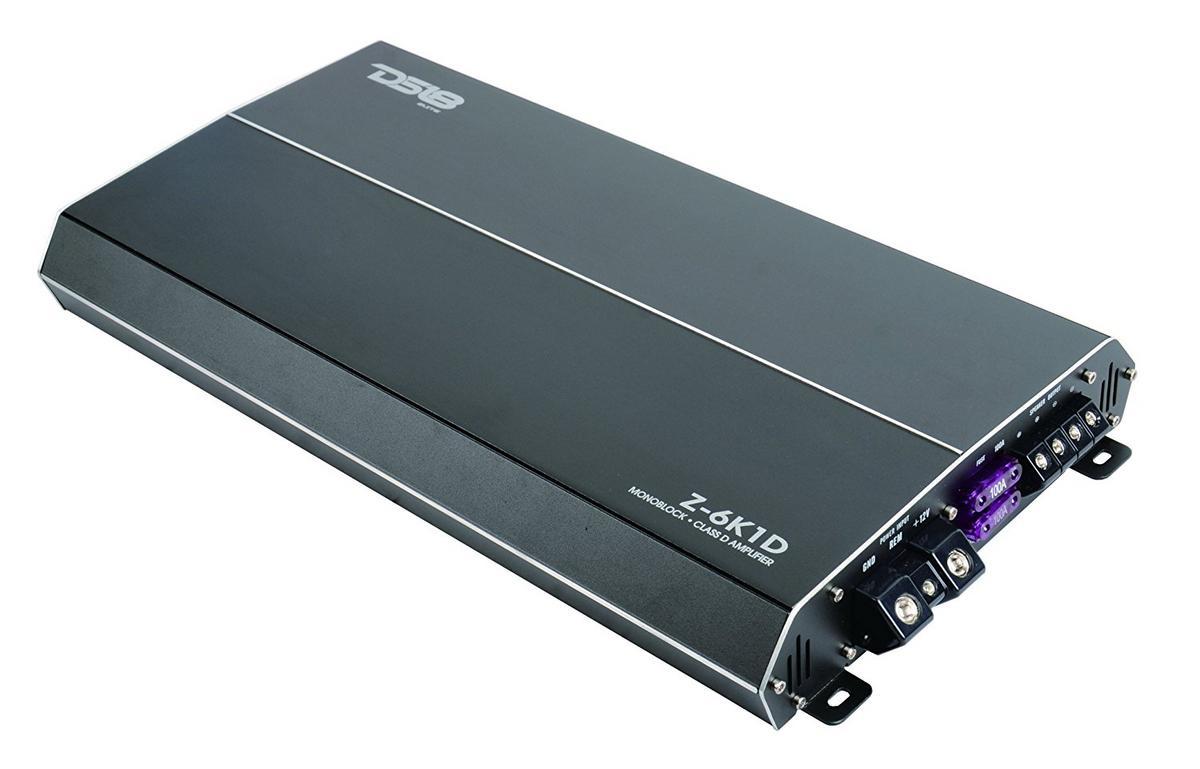 DS18 Elite Z-6K1D 6000 Watt Monoblock High Performance Power Amplifier Single