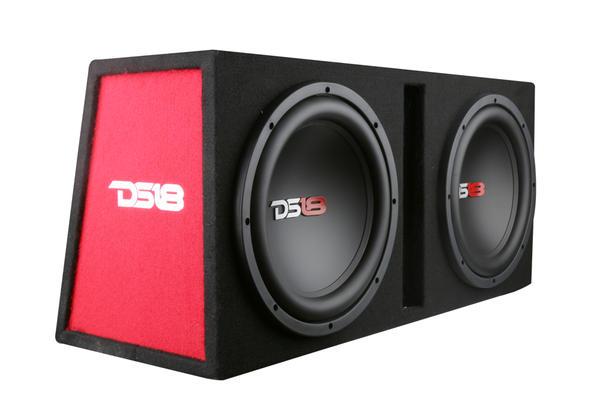 """DS18 BP210 1200 Watt Twin 10"""" Subwoofer Amplifier Bass Package Thumbnail 1"""