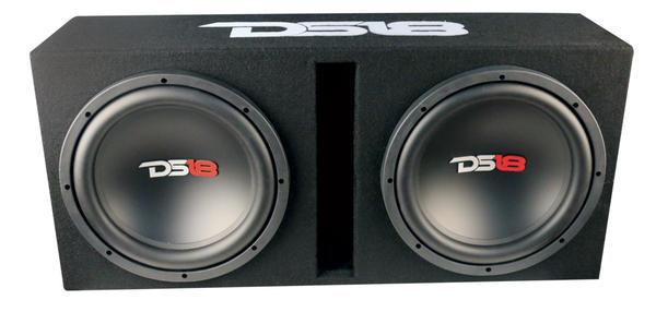 """DS18 BP210 1200 Watt Twin 10"""" Subwoofer Amplifier Bass Package Thumbnail 3"""