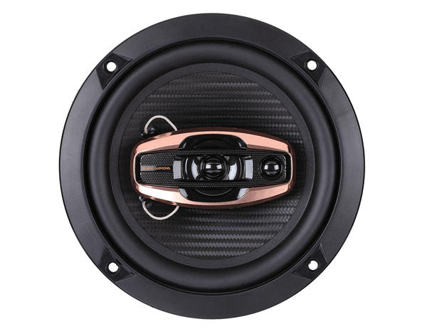 "DS18 BD-G654 Black Diamond 380 Watts 6.5"" Inch Coaxial Speakers Pair Thumbnail 1"
