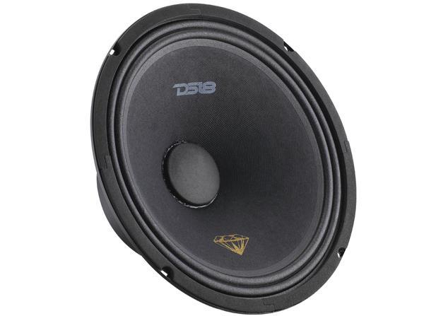 "DS18 BD-MR10 Black Diamond 620 Watts 10"" Inch Midrange Loud Speaker Thumbnail 1"