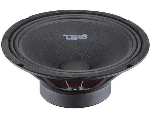 "DS18 BD-MR10 Black Diamond 620 Watts 10"" Inch Midrange Loud Speaker Thumbnail 2"