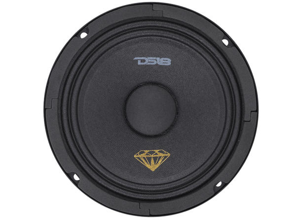 "DS18 BD-MR6 Black Diamond 420 Watts 6.5"" Inch Midrange Loud Speaker Thumbnail 3"