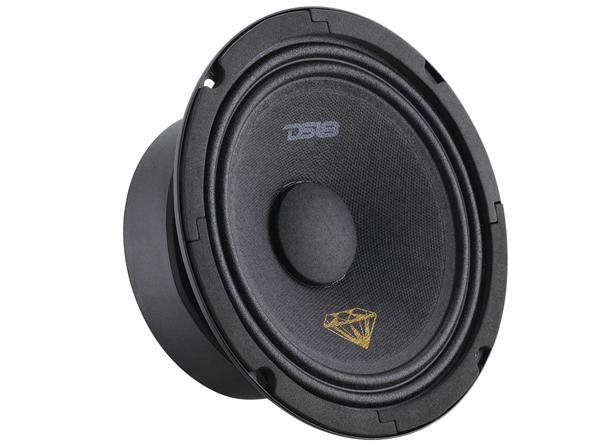 "DS18 BD-MR6 Black Diamond 420 Watts 6.5"" Inch Midrange Loud Speaker Thumbnail 2"