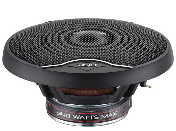 "DS18 EXL-SQ5.25 340 Watts 5.25"" Inch Coaxial Speakers Pair Thumbnail 6"
