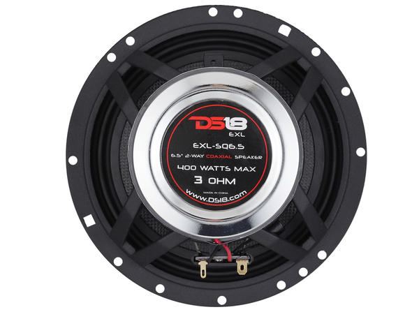 "DS18 EXL-SQ6.5 400 Watts 6.5"" Inch Coaxial Speakers Pair Thumbnail 8"