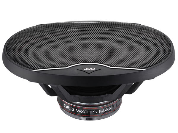 "DS18 EXL-SQ6.9 560 Watts 6x9"" Inch Coaxial Speakers Pair Thumbnail 3"