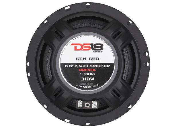 "DS18 GEN-650 Genesis 310 Watts 6.5"" Inch Coaxial Speakers Pair Thumbnail 8"