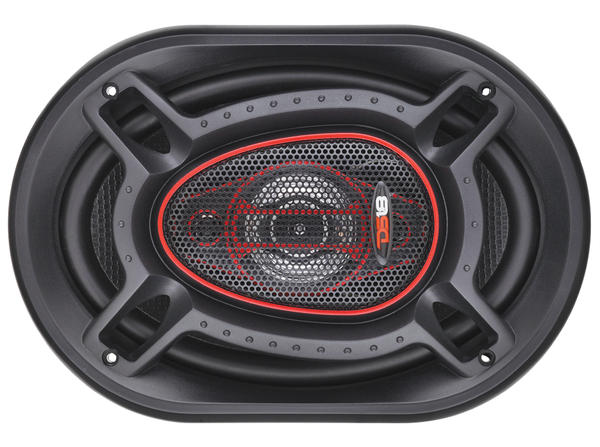 "DS18 GEN-690 Genesis 125 Watts RMS 6x9"" Inch Coaxial Speakers Pair Thumbnail 5"