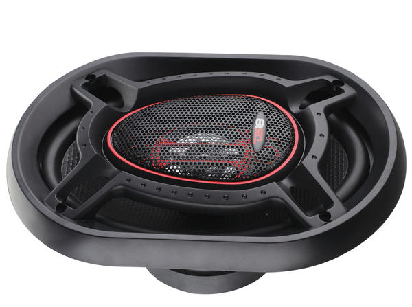 "DS18 GEN-690 Genesis 125 Watts RMS 6x9"" Inch Coaxial Speakers Pair Thumbnail 4"