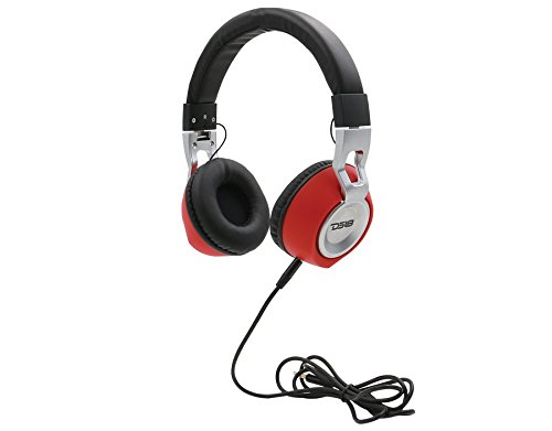 DS18 HDP Foldable Wired Headphones with built in Microphone Single Thumbnail 1