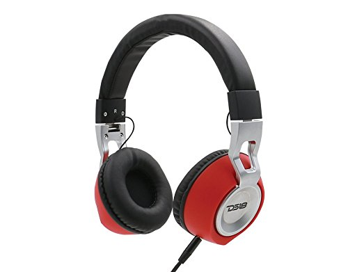 DS18 HDP Foldable Wired Headphones with built in Microphone Single Thumbnail 3