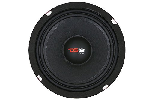 "DS18 PRO-X6MSE 450 Watts 6"" Inch Midrange Loud Speaker Thumbnail 4"