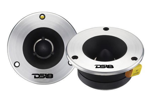 DS18 DS-TWR11 Genesis Series High Quality Car Audio 300 Watts Dome Tweeters Thumbnail 1