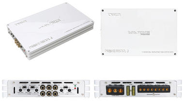 DS18 WAVES1100.4 1100 Watt 4 Channel Marine Amplifier Thumbnail 4