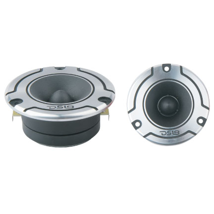 DS18 PRO-TW110 Pro Series High Quality Car Audio 300 Watts Compression Tweeters Thumbnail 1