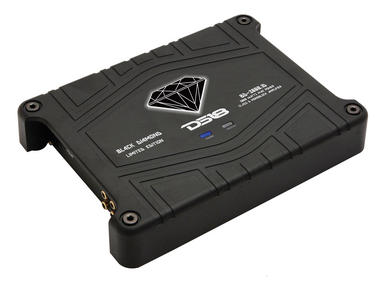 DS18 BD-3000.1 Black Diamond Car Audio Monoblock Class D 3000 Watt Amplifier Thumbnail 1