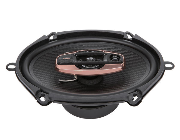 "DS18 BD-G574 Black Diamond 380 Watts 5x7"" Inch Coaxial Speakers Pair Thumbnail 2"