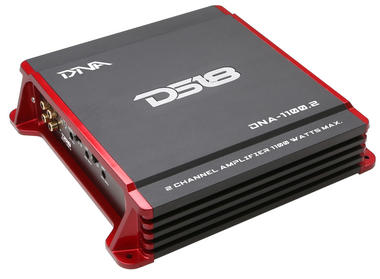 DS18 DNA-1100.2 DNA Series Car Audio 2 Channel Stereo 1100 Watt Amplifier Thumbnail 1