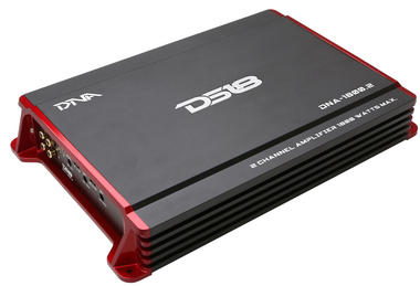 DS18 DNA-1800.2 DNA Series Car Audio 2 Channel Stereo 1800 Watt Amplifier Thumbnail 1