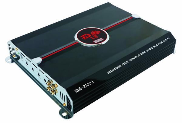 DS18 DS-2100.1 Genesis Series Car Audio Monoblock 2100 Watt Amplifier Thumbnail 1