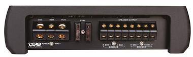 DS18 EXL-A3.4K4 EXL Series Car Audio 4 Channel Stereo 3400 Watt Amplifier Thumbnail 2