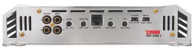 DS18 GEN-3000.2 Genesis Series Car Audio 2 Channel Stereo 3000 Watt Amplifier Thumbnail 3
