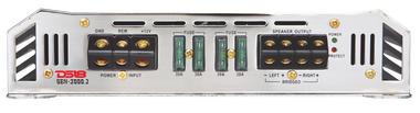 DS18 GEN-3000.2 Genesis Series Car Audio 2 Channel Stereo 3000 Watt Amplifier Thumbnail 2