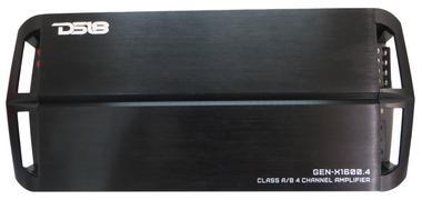 DS18 GEN-X1600.4 1600 Watts Car Audio 4 Channel Amplifier Bass Remote Knob Single Thumbnail 1