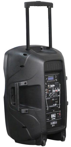 "DS18 MB-NV15BAT 2000 Watt 15"" PA DJ Active Loud Speaker Thumbnail 4"