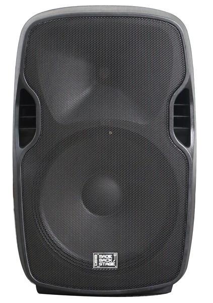 "DS18 MB-NV15BAT 2000 Watt 15"" PA DJ Active Loud Speaker Thumbnail 1"