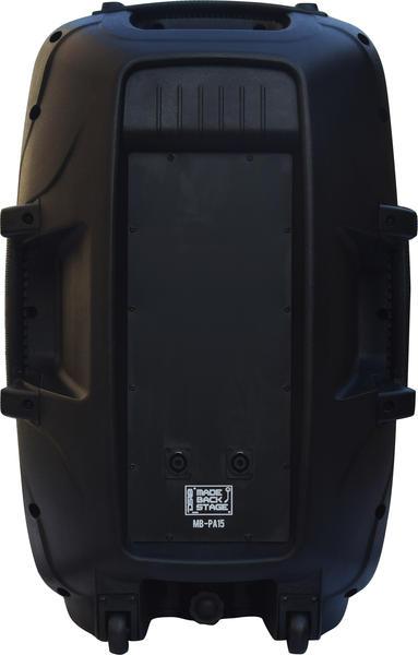 "DS18 MB-PA15 2000 Watt 15"" 2 Way PA DJ Loud Speaker Thumbnail 5"