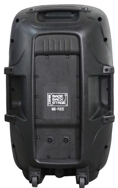 "DS18 MB-PA15 2000 Watt 15"" 2 Way PA DJ Loud Speaker Thumbnail 2"