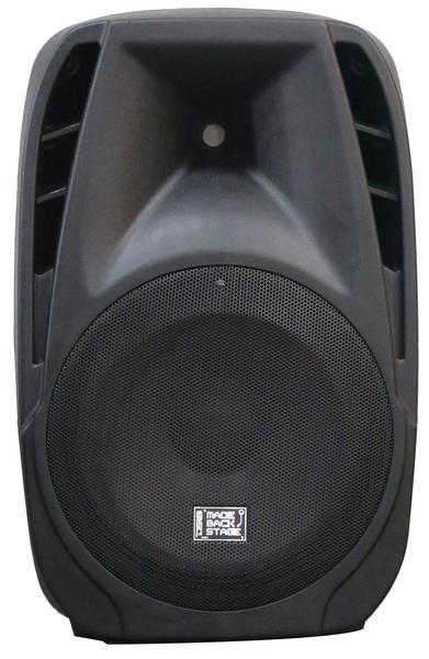 "DS18 MB-PW15BT 2000 Watt 15"" Bluetooth PA DJ Active Loud Speaker Thumbnail 1"