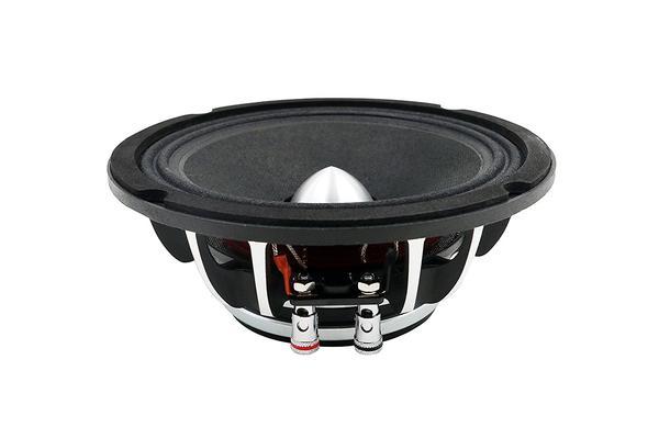 "DS18 PRO-FR8NEO 8"" Car Audio 500 Watt Neodymium Midrange 4 Ohm Speaker Single Thumbnail 2"