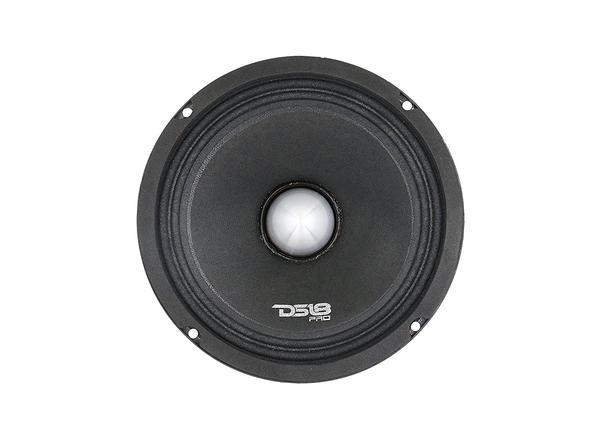 "DS18 PRO-FR8NEO 8"" Car Audio 500 Watt Neodymium Midrange 4 Ohm Speaker Single Thumbnail 3"