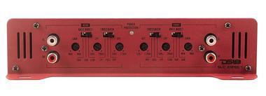 DS18 SLC-X1850.4 Car Audio 4 Channel Class AB Amplifier 1850 Watts Power Single Thumbnail 4