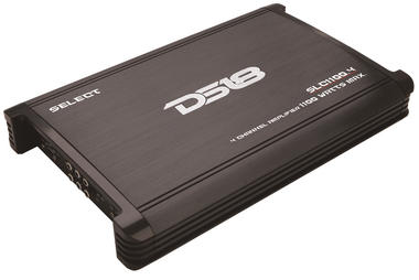 DS18 SLC1100.4 Select Series Car Audio 4 Channel Stereo 1100 Watt Amplifier Thumbnail 1