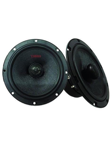 "DS18 Z-654 6.5"" Car Audio Coaxial Speakers Neodymium Tweeters 4 Ohm 180 Watt Pair Thumbnail 1"