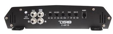 DS18 Elite Z-6K1D 6000 Watt Monoblock High Performance Power Amplifier Single Thumbnail 4