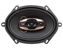 "DS18 BD-G574 Black Diamond 380 Watts 5x7"" Inch Coaxial Speakers Pair"