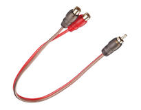 DS18 RCAECO-2F1M 2 Female 1 Male RCA Cable