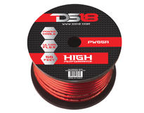 DS18 PW-0GA-50RD 50 ft Foot Power Ground Cable