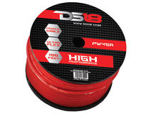 DS18 PW-4GA-100RD 100 ft Foot Power Ground Cable
