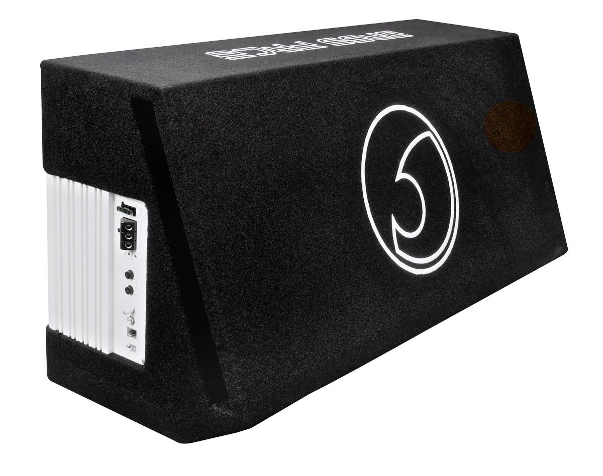 Bassface Power12 2 2600w Twin 12 U0026quot  Active Car Sub Amp