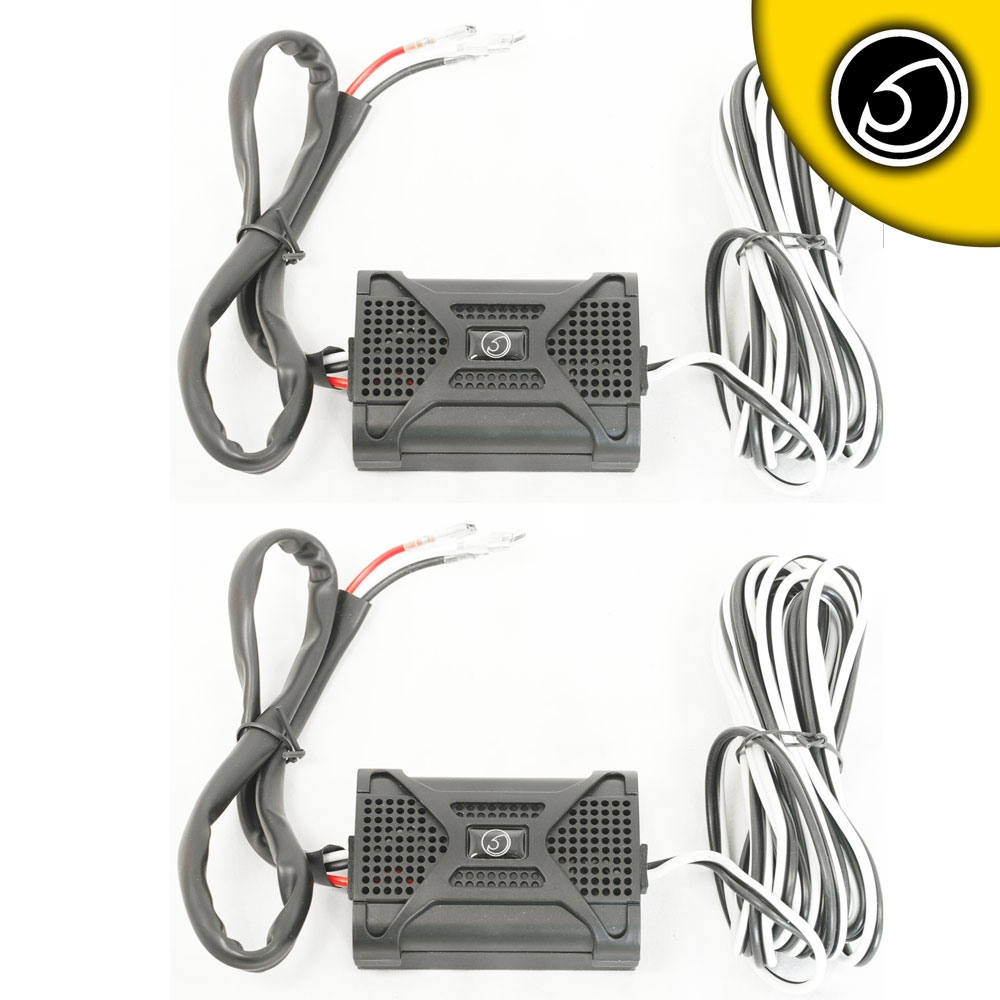 Bassface BLACKSPL.1XOVER Passive 2 Way Crossovers For 5/6 Inch 13cm/17cm Coaxial Speakers