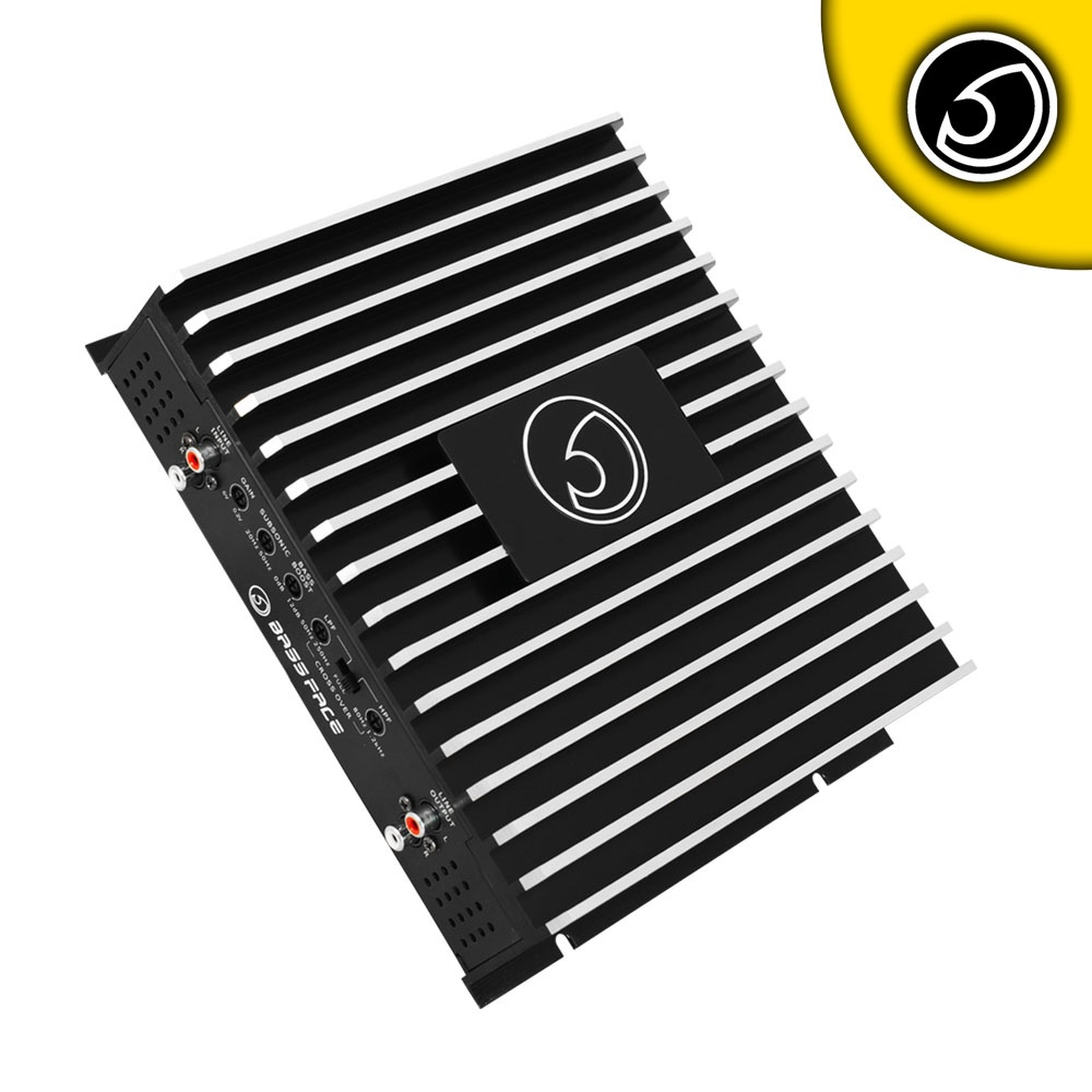 Bassface DB2.1 800w 2/1 Channel Bridgeable Stereo 12v Power Amplifier