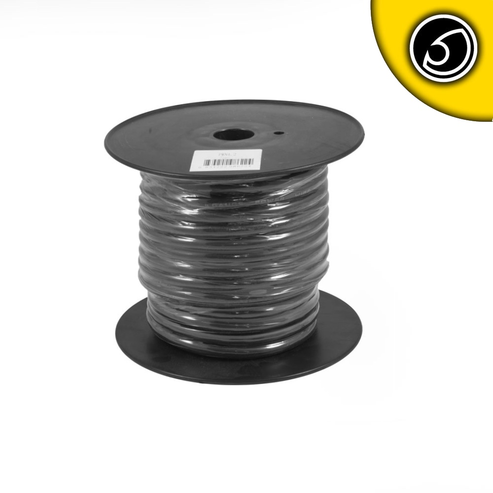 Bassface PWN4.2 OFC 4AWG 21mm Black Negative Wire Cable Spool 30m 1862 Strand
