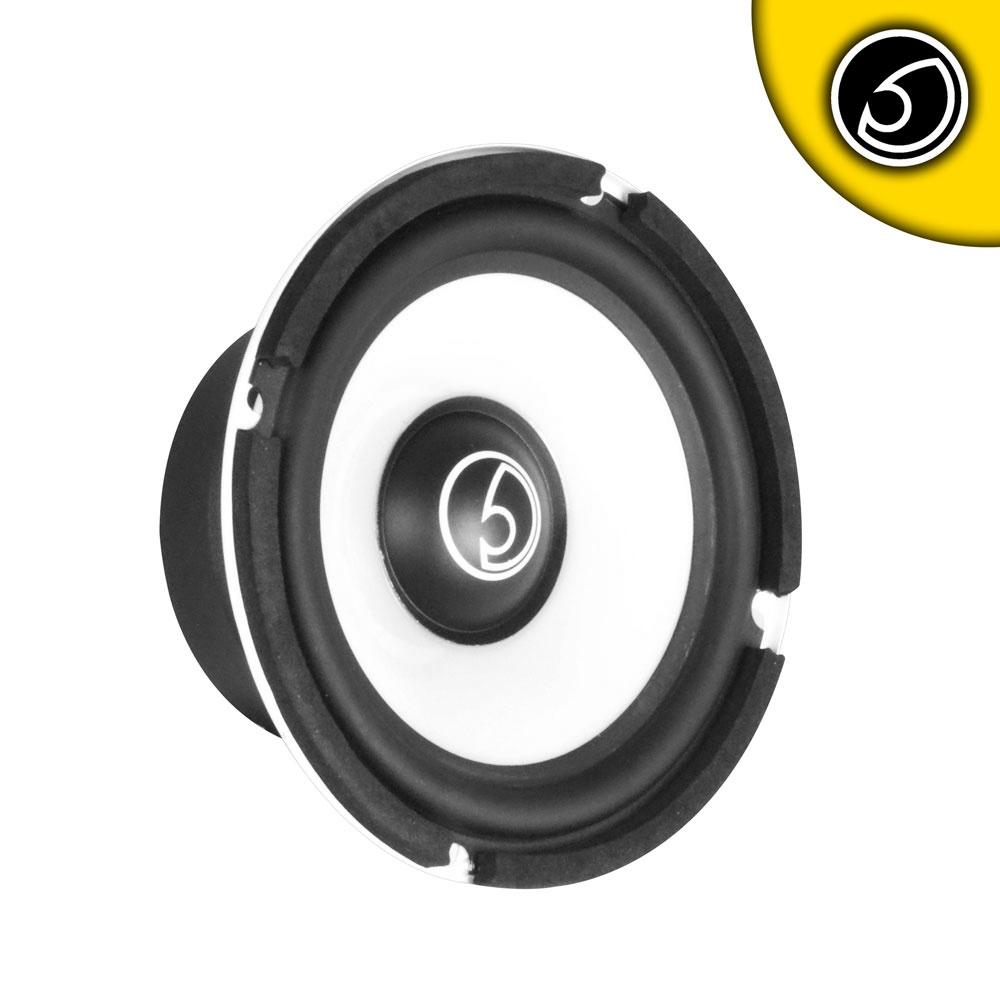 "Bassface SPL5M.1 5.25"" 13cm 200w 4Ohm Midbass Driver Car Door Speaker Single"