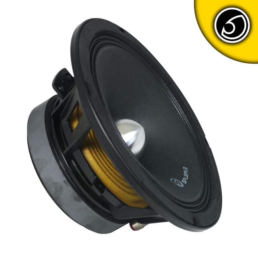 "Bassface SPL8M.2 500w 8"" 20cm 8Ohm Midrange Bass Woofer Single"